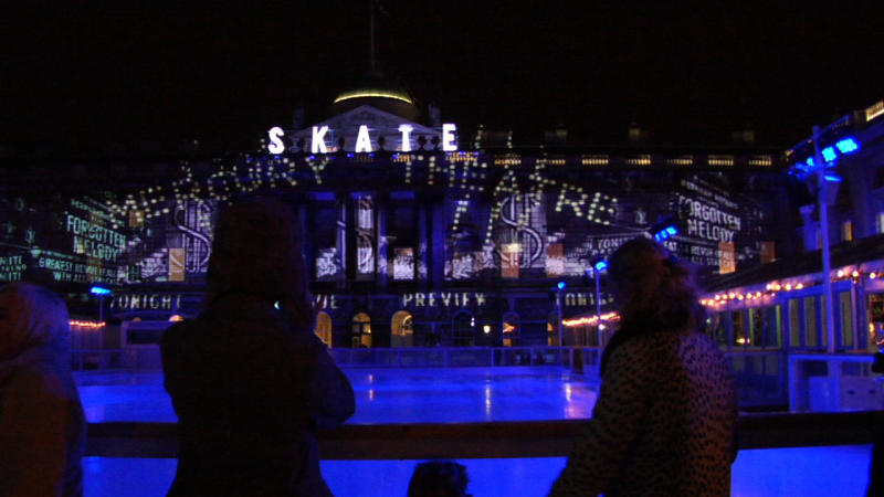 Image of Tiffany Skate at Somerset House